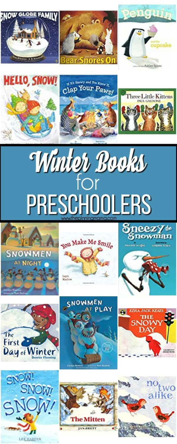 The Big List of Winter Books for your preschool age kids