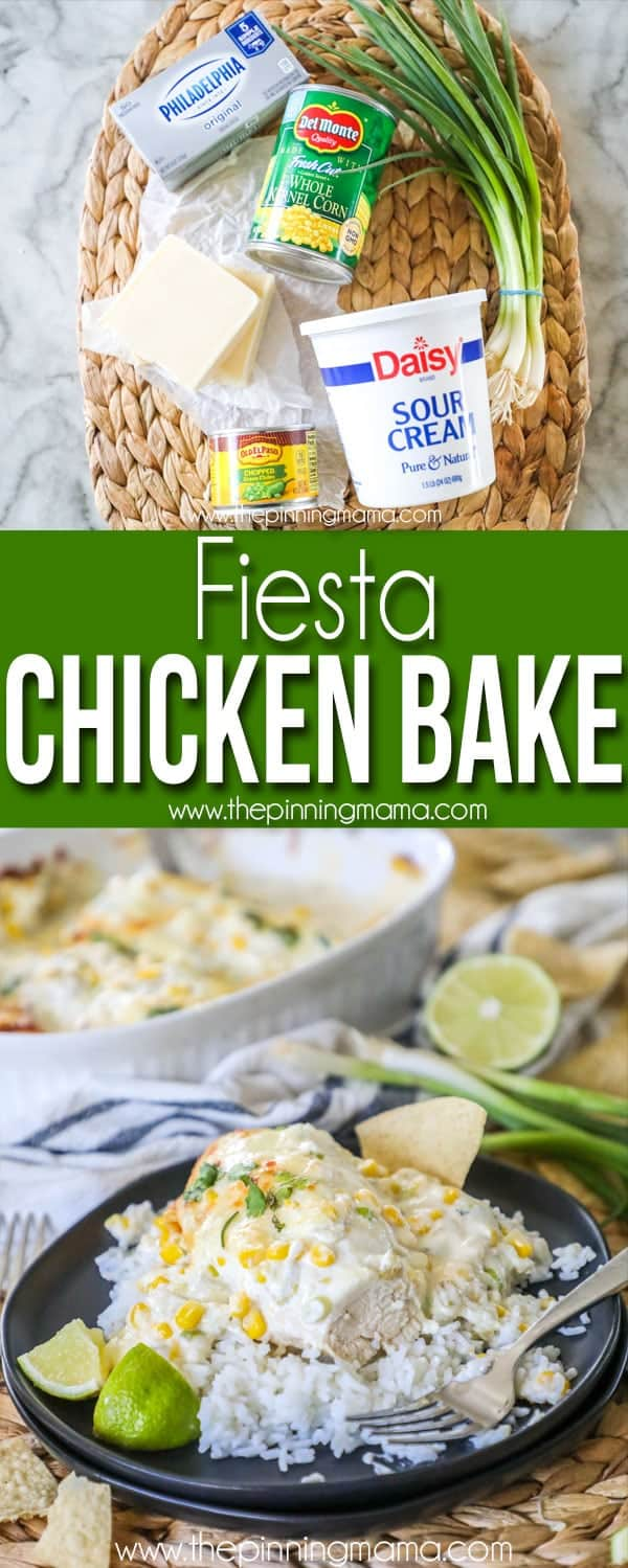 Fiesta Chicken Bake Recipe