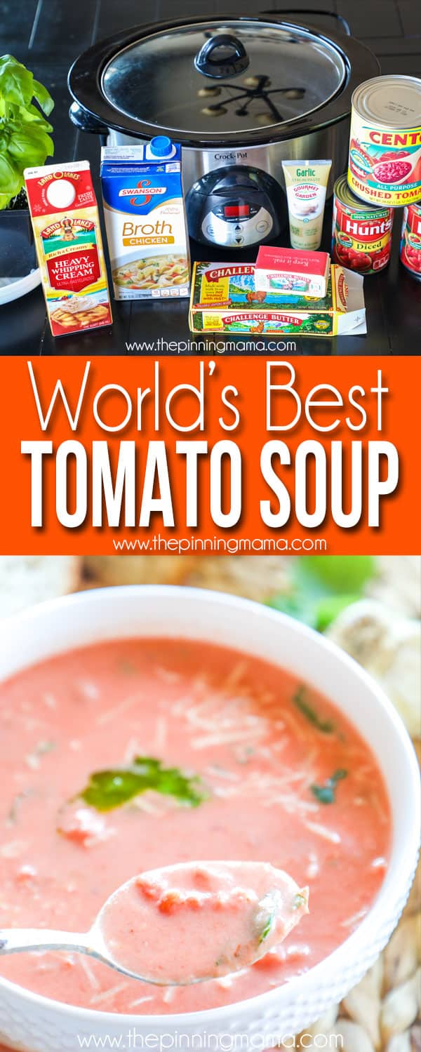 Tomato Soup Recipe and Ingredients
