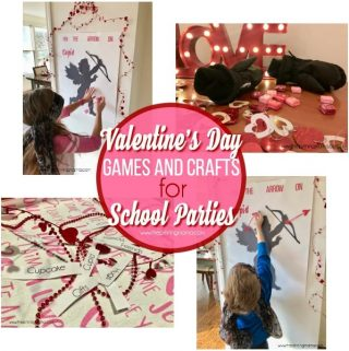 Valentine's Day Games and Crafts for School Parties