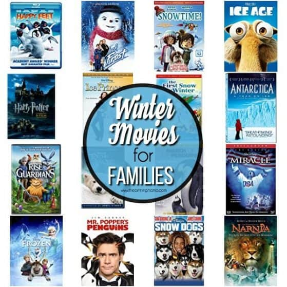 Enjoy this list of winter movies for your family