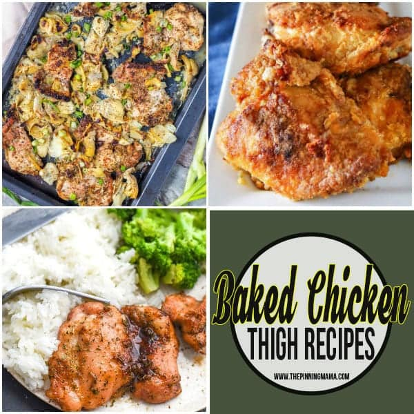 Baked Chicken Thighs recipes