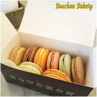 The Delicious place for Macaroons.. The Bouchon Bakery In NYC.