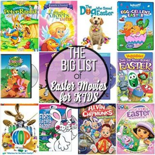 Your big list of Easter Movies for KIDS.