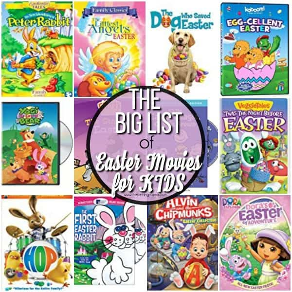 Your Big List Of Easter Movies For Kids