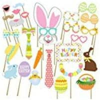 Easter photo props for school parties.
