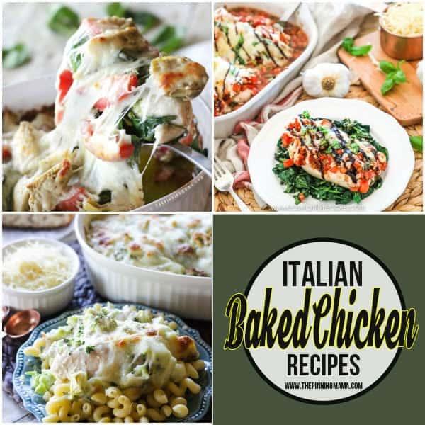 Italian Baked Chicken Recipes