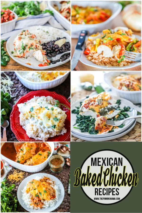 Mexican Baked Chicken Recipes