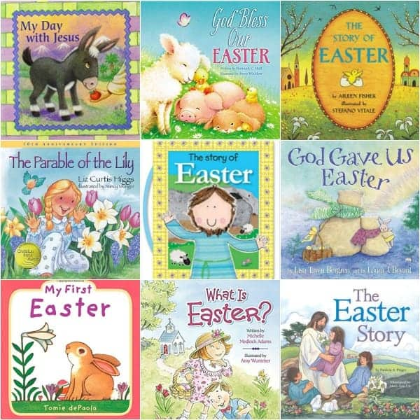 Big List of Religious Easter Books