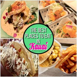 The Big list of the best places to eat in Kauai