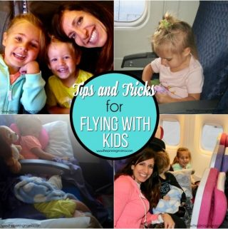 Sanity Saving Tips and Tricks for Flying with Kids