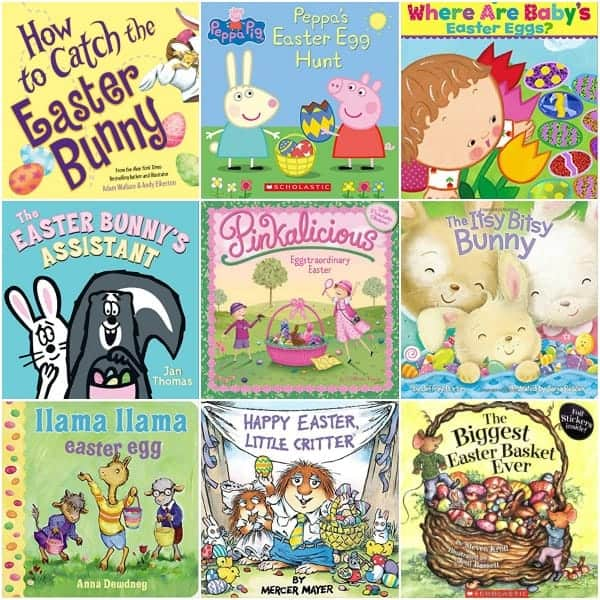 The Big list of Non Religious Easter Books