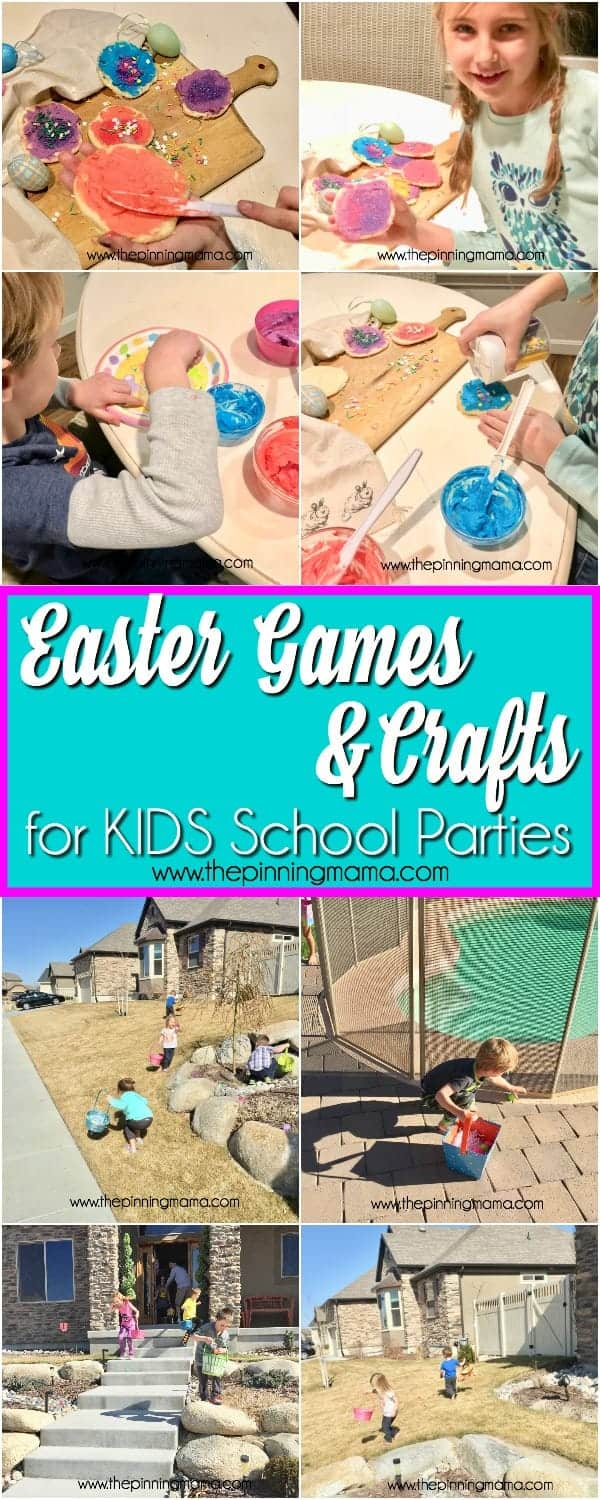 Easter Games and Parties for Kids School Parties.