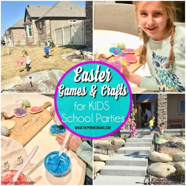 Easter Games and Crafts for KIDS school parties.