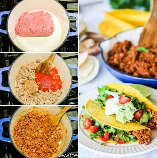 How to make taco meat perfect EVERY time!