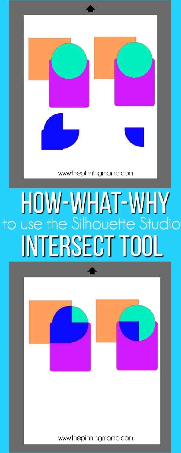 How-What-Why to use the Intersect tool in Silhouette Studio