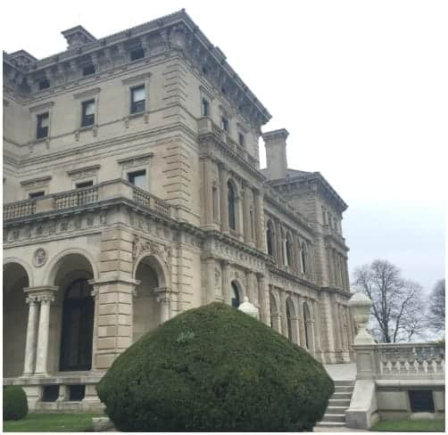 The Breakers Mansion in Newport RI.