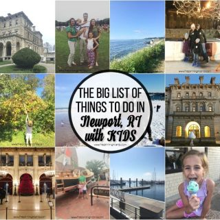 The BIG List of Things to do with Kids in Newport, RI