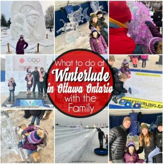 What to do at the Winterlude Festival in Ottawa Ontario with the Family