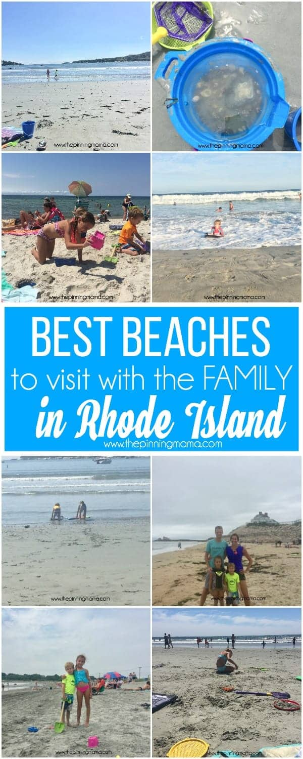 My top 5 beaches to visit in RI with the family.