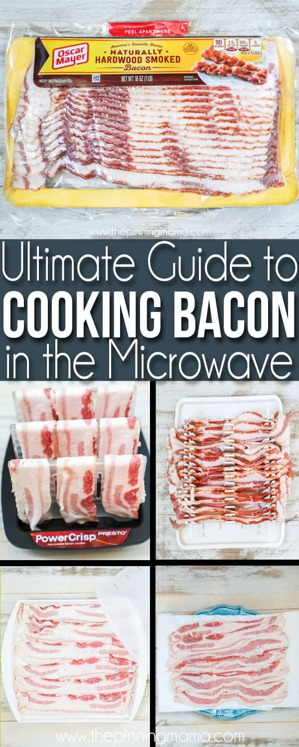 the ultimate guide for how to cook bacon in the microwave • the