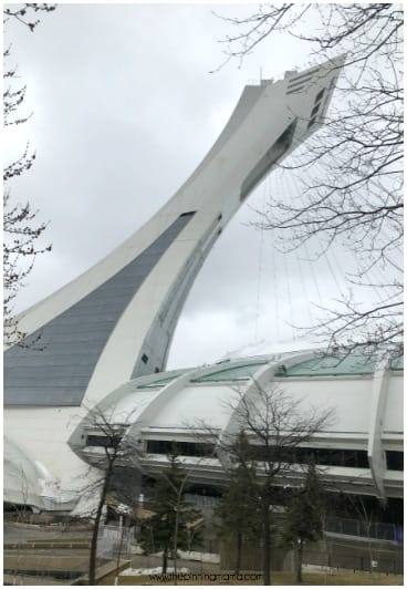 The Olympic Park Observatory in Montréal Canada.