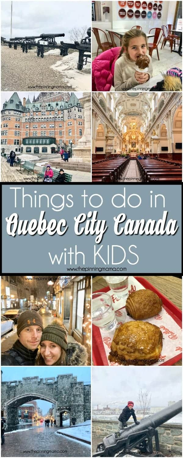 Things to do in Quebec City with Kids.