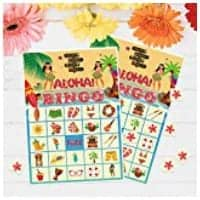 BINGO game for end of year school parties.