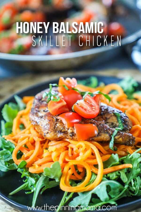 The BEST Balsamic Chicken - Easy 30 minute dinner recipe