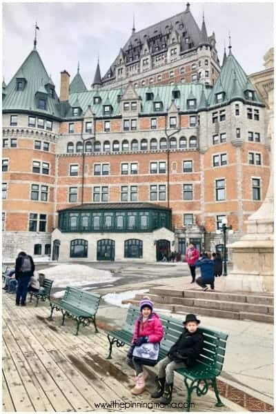 Visit the amazing and stunning Chataeu Frontenac Hotel.