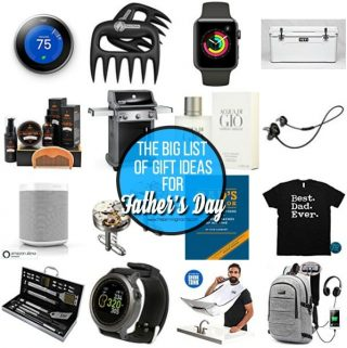 The Big List of Father's Day Gifts