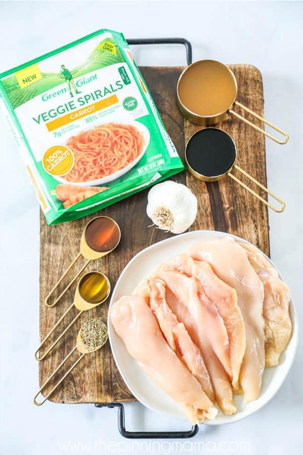 Honey Balsamic Chicken Ingredients