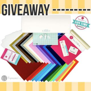 Silhouette CAMEO Giveaway!!!