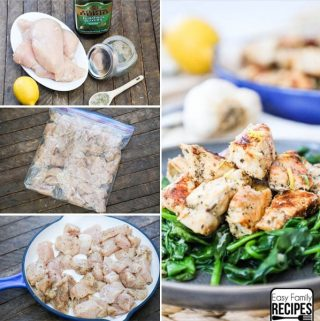 PERFECT Skillet Greek Chicken