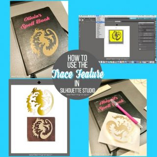 What is Trace and how to use it in Silhouette Studio. {Silhouette Bootcamp Lesson 18}
