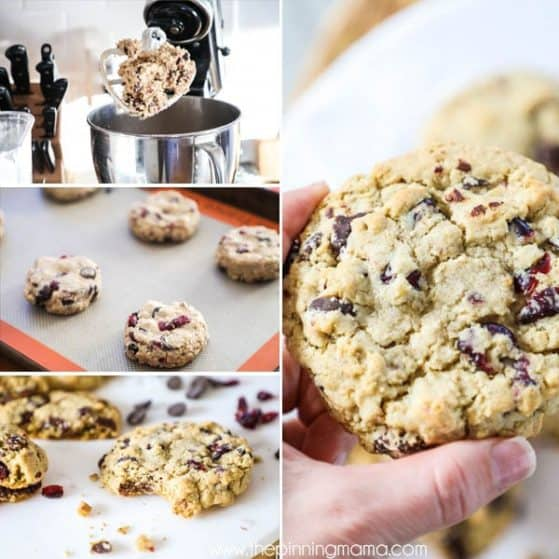 Oatmeal Cranberry Cookie Recipe