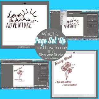 How to use Page Set Up in Silhouette Studio. {Silhouette Bootcamp Lesson 20}
