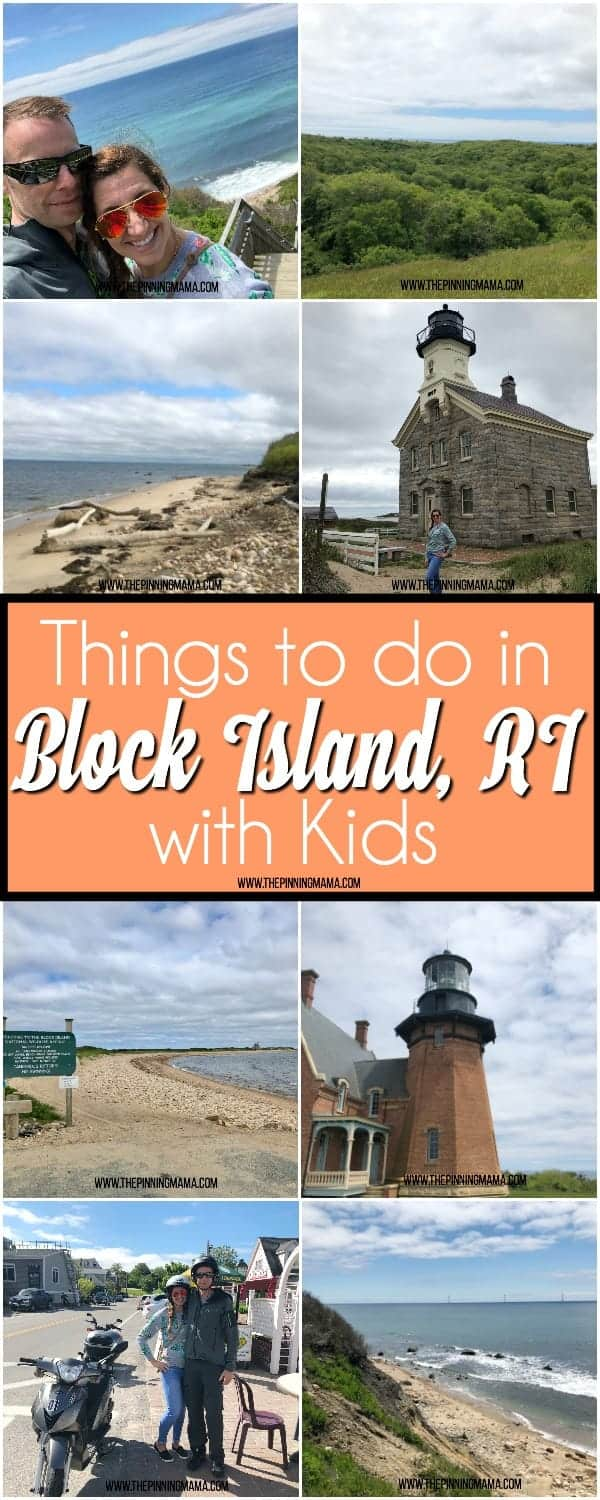 The big list of things to do in Block island with kids.