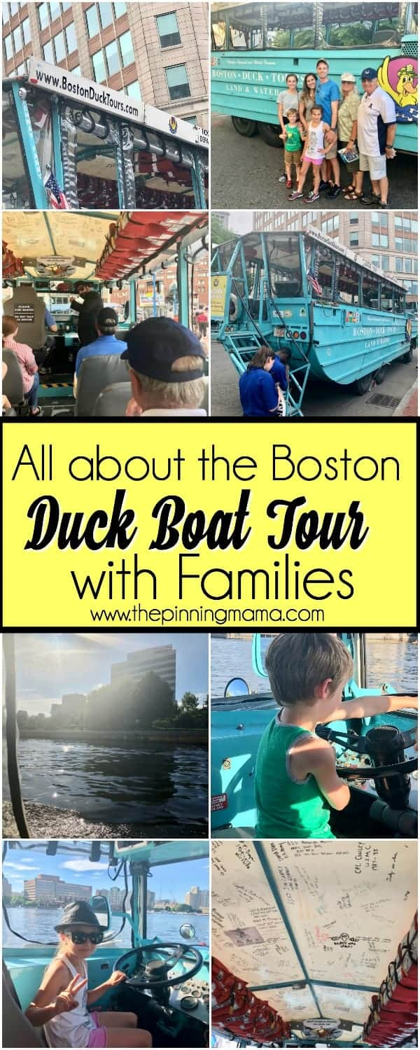 The Boston Duck Boat Tour with Families