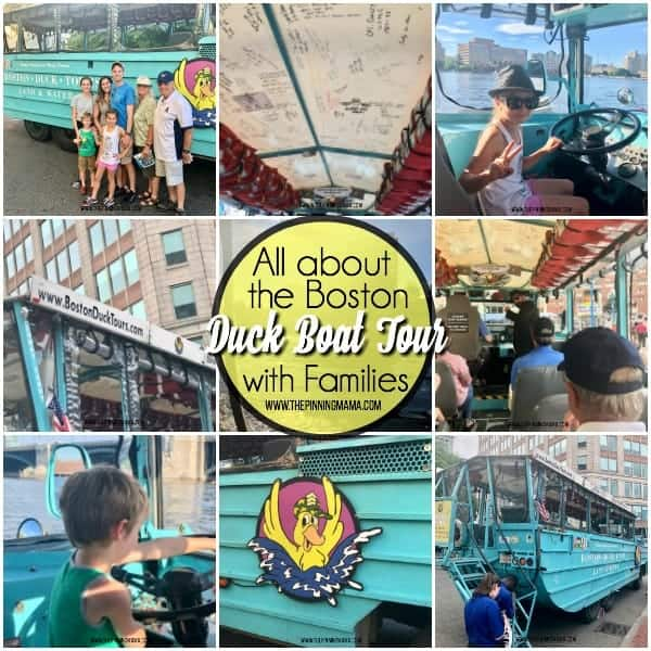 All about the Boston Duck Boat Tour with Families
