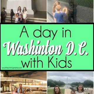 A day in Washington D.C. with Kids