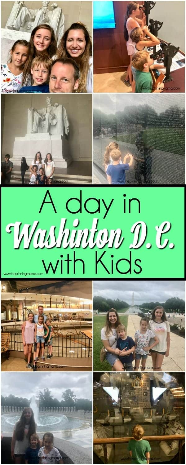 A day in Washington D.C with Kids.