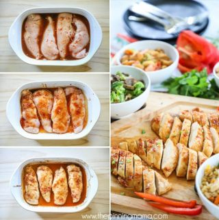Baked Asian Chicken