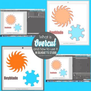 Overcut Explanation in Silhouette Studio. { Silhouette Bootcamp Lesson 26}
