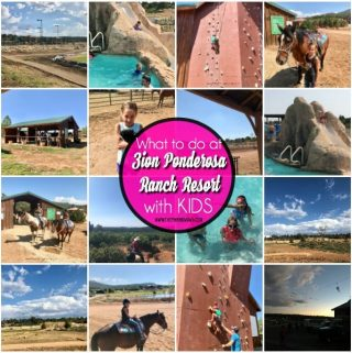 What to do in Zion Ponderosa Ranch Resort in Utah with Kids