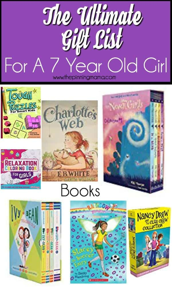 Book gift ideas for a 7 year old girl.