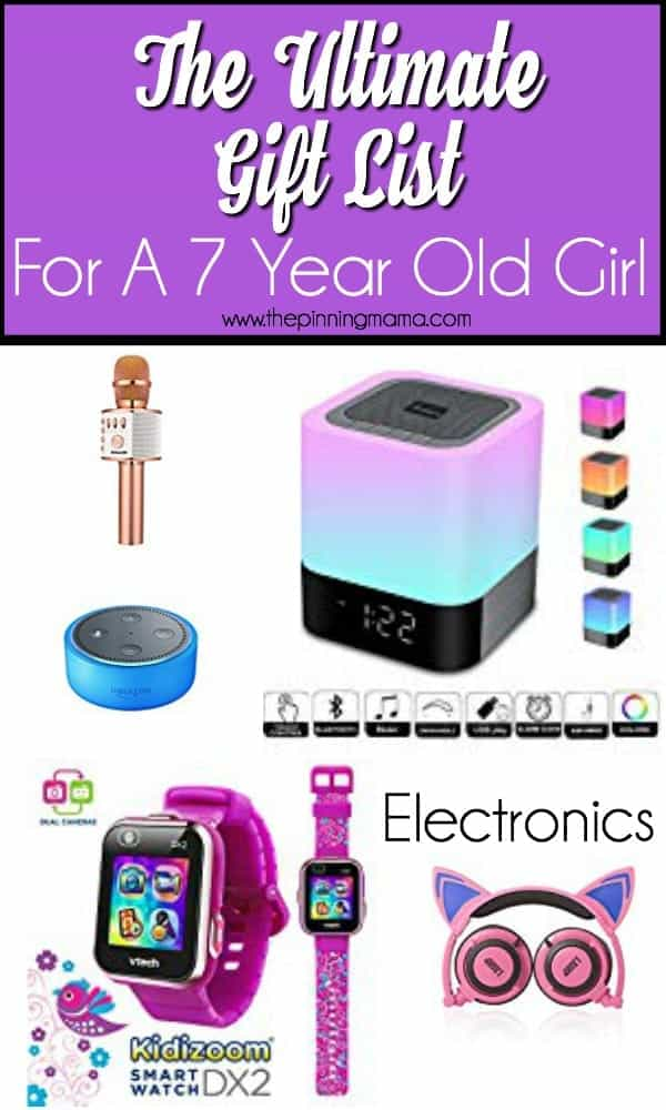 Gift Ideas For A 7 Year Old Girl Electronics