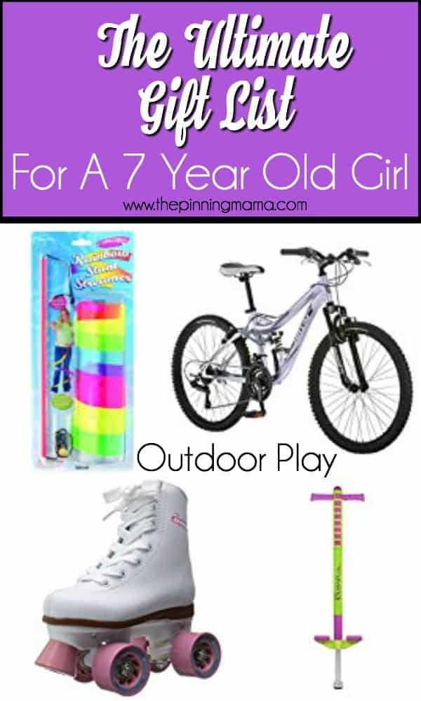 Outdoor Play Gift Ideas For A 7 Year Old Girl