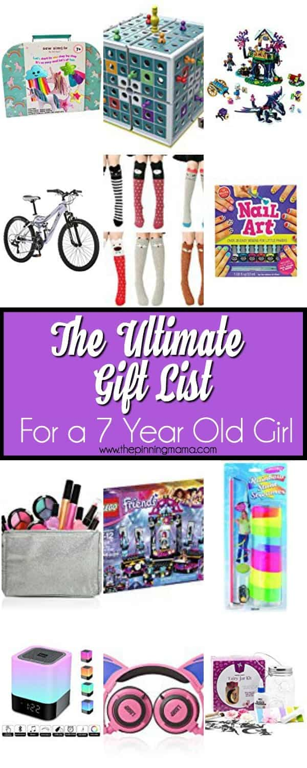 The Ultimate Gift List For A 7 Year Old Girl