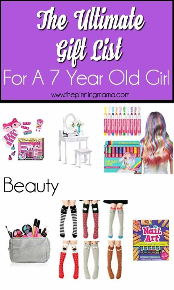 Beauty Gift Ideas For A 7 Year Old Girl